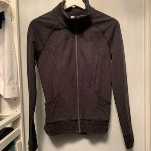 Lululemon dark grey jacket size 4